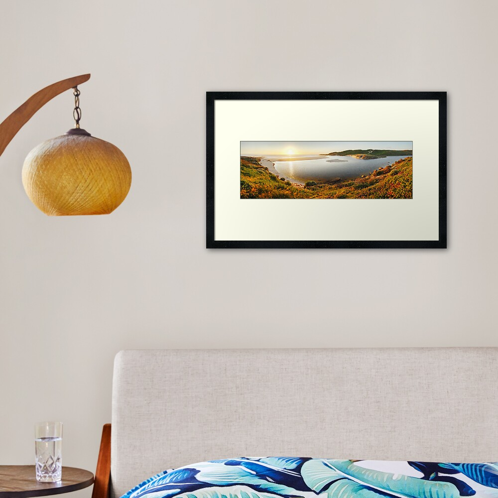Margaret River Mouth, Western Australia Framed Art Print