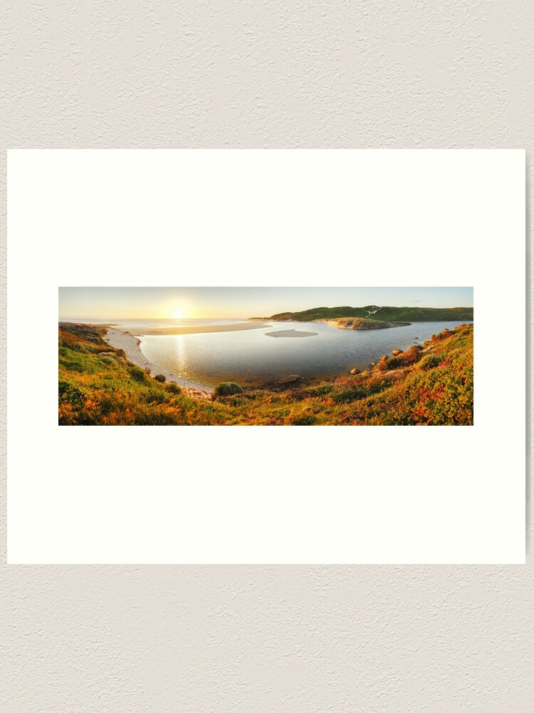 Alternate view of Margaret River Mouth, Western Australia Art Print