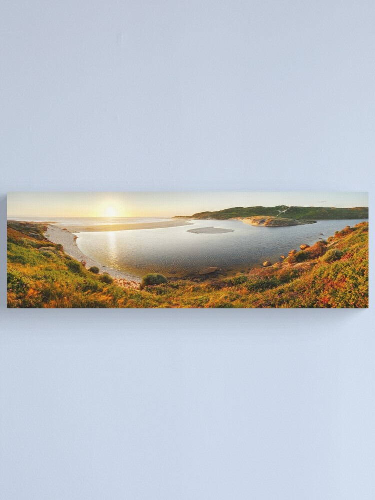 Alternate view of Margaret River Mouth, Western Australia Canvas Print
