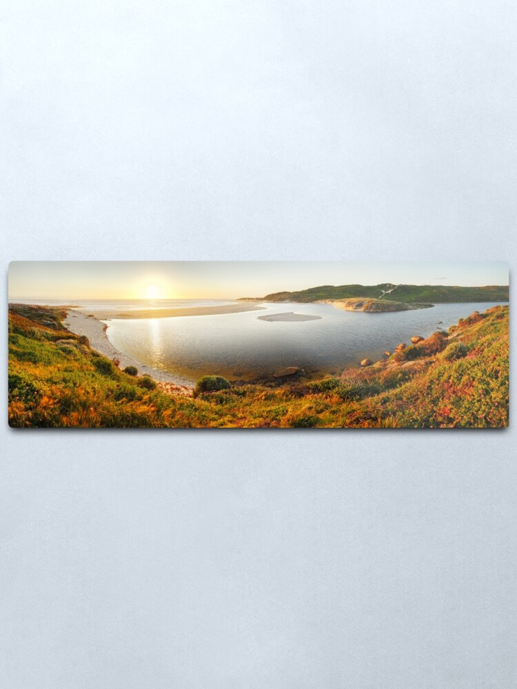 Alternate view of Margaret River Mouth, Western Australia Metal Print