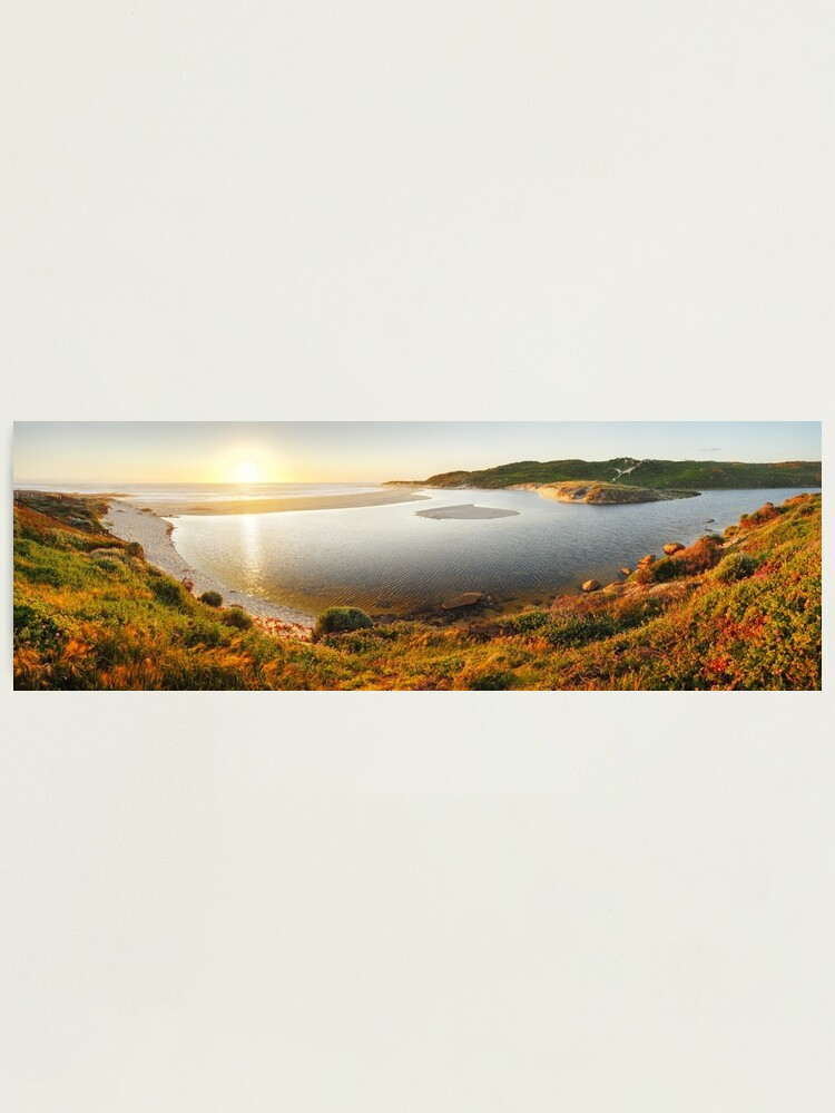 Alternate view of Margaret River Mouth, Western Australia Photographic Print