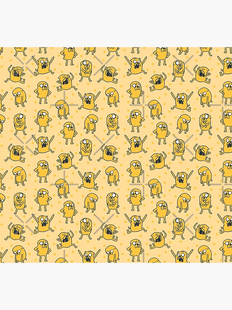 Jake Pattern (Adventure Time) by castl3t0ndesign