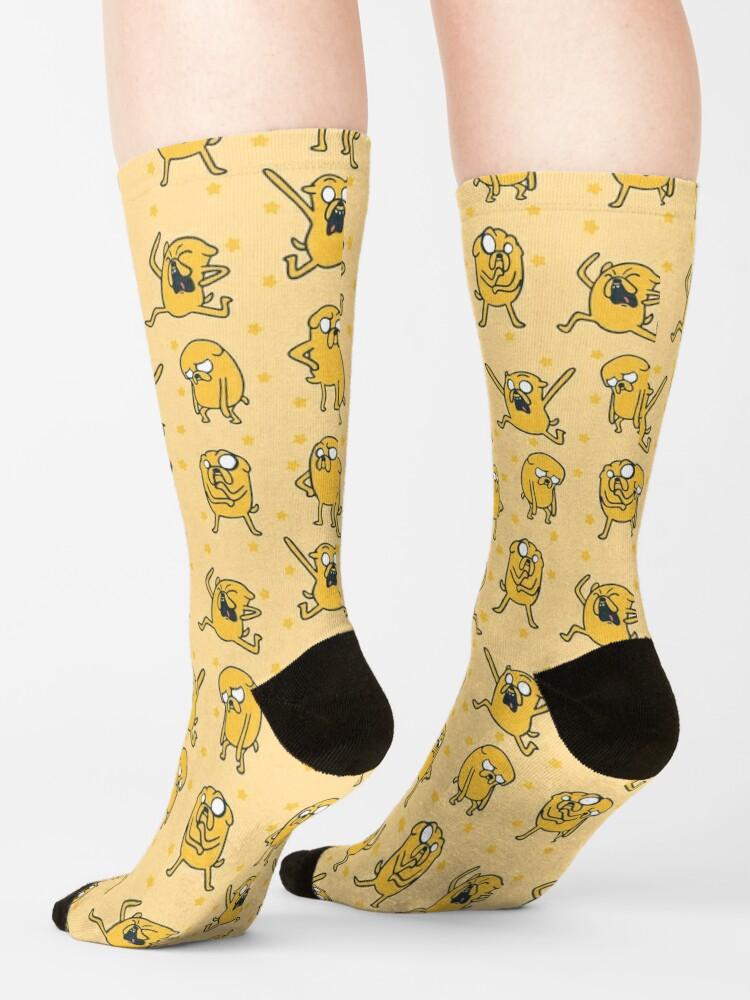 Alternate view of Jake Pattern (Adventure Time) Socks