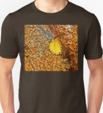 Premature Autumn Aspen Leaf Unisex T-Shirt