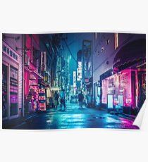 Tokyo Midnight Rain Poster