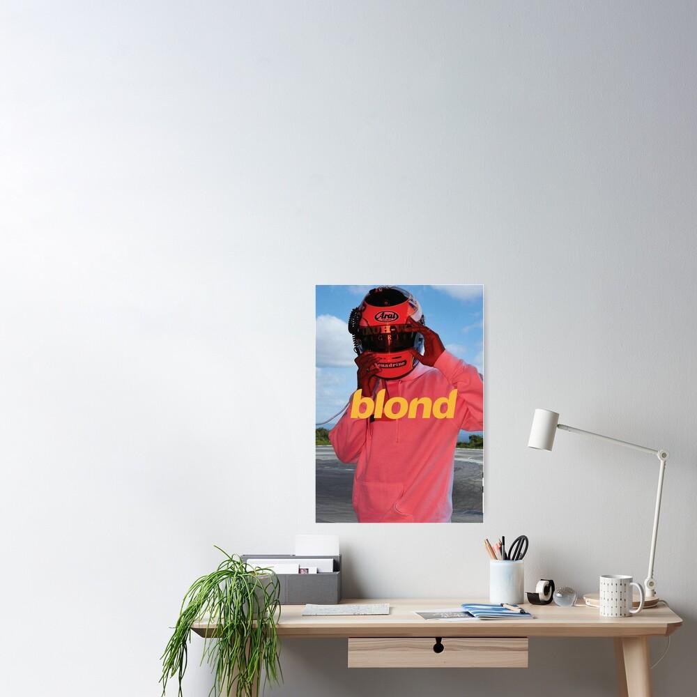 Blond Frank Ocean Poster Poster