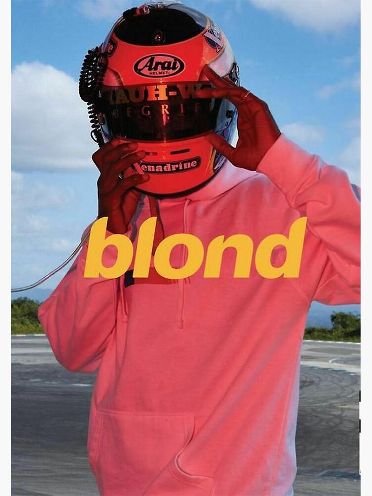 Blond Frank Ocean Poster by annelisev