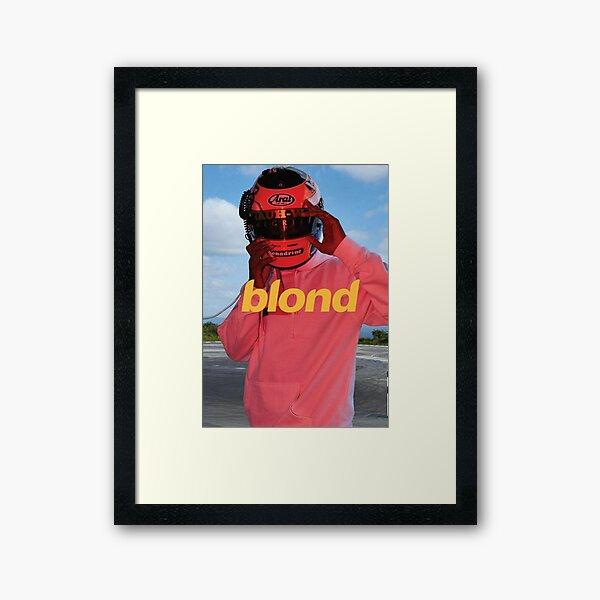 Affiche de Frank Ocean blonde Impression encadrée