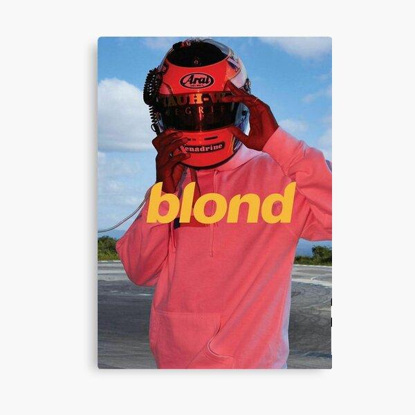 Blond Frank Ocean Poster Canvas Print