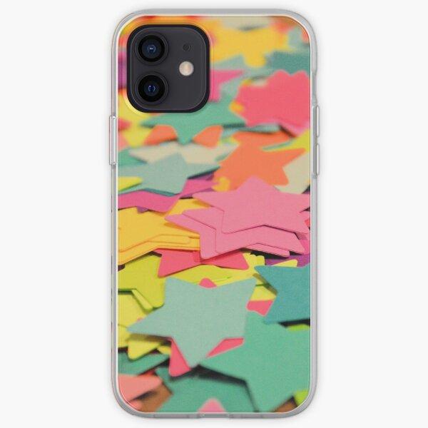 Star Confetti iPhone Soft Case