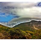 Cloudy Hat. by Tom Mostert