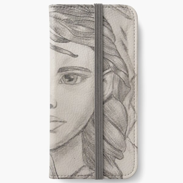 A Girl iPhone Wallet