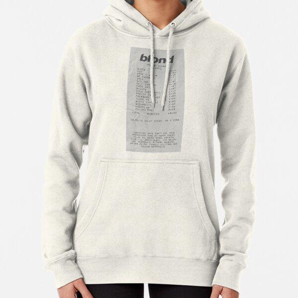 Blond Frank Ocean Receipt Print Pullover Hoodie