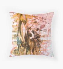 Horses. Throw Pillow