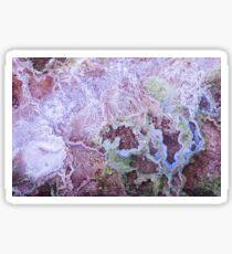 Texturen von Yellowstone Sticker