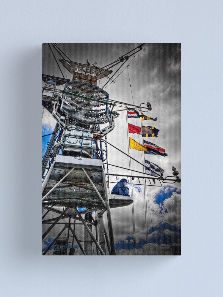 Alternate view of Superstructure Canvas Print