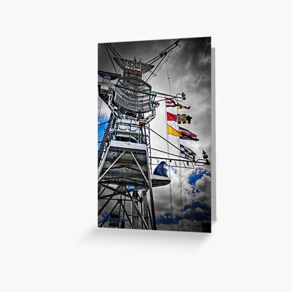 Superstructure Greeting Card