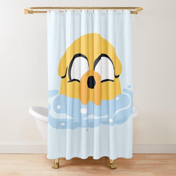 Bubble Bath Jake (Adventure Time) Shower Curtain