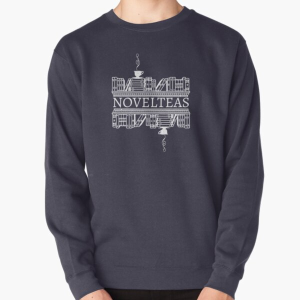 Novelteas White Pullover Sweatshirt