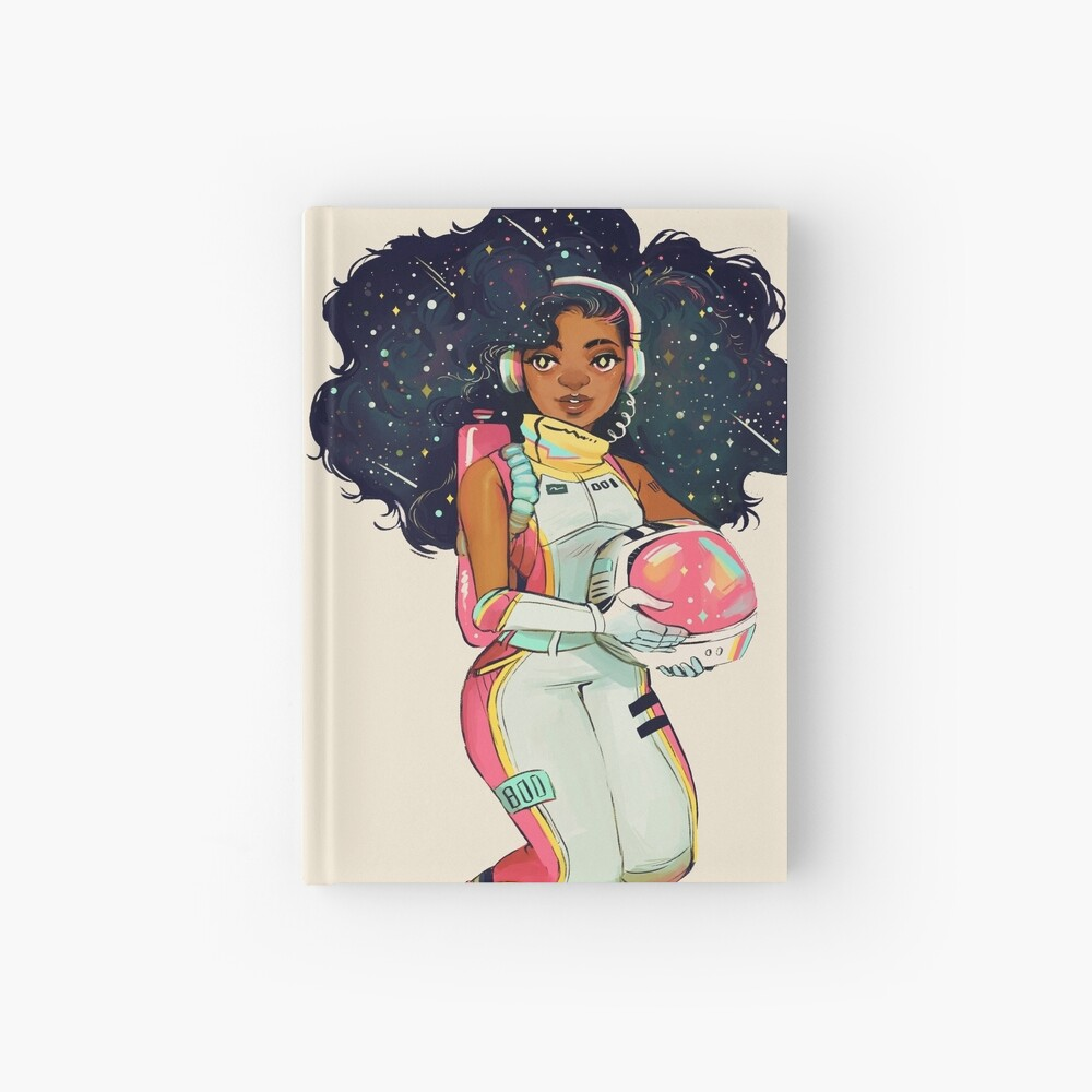 S P A C E Hardcover Journal