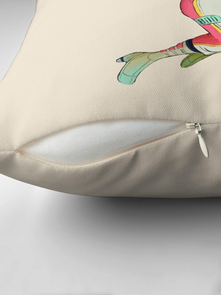Alternate view of S P A C E Floor Pillow