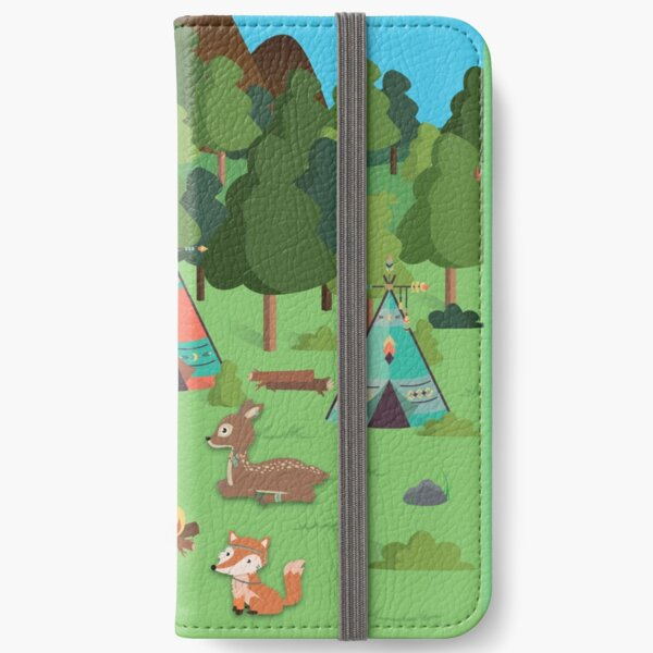 Woodland Friends iPhone Wallet