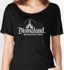Black and white Dismaland Women's Relaxed Fit T-Shirt