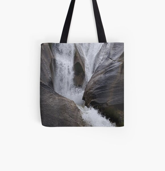 Waterfall All Over Print Tote Bag