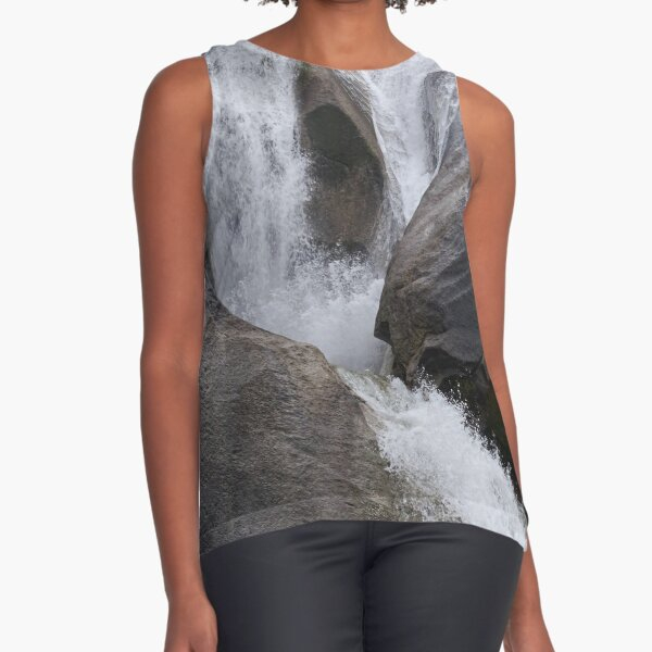Waterfall Sleeveless Top