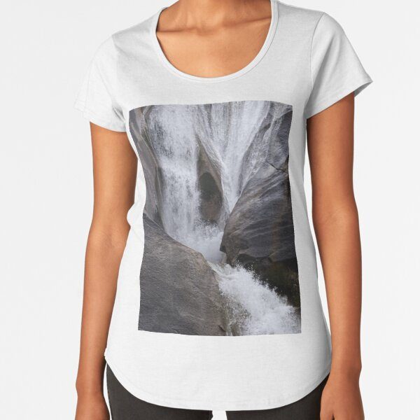 Waterfall Premium Scoop T-Shirt
