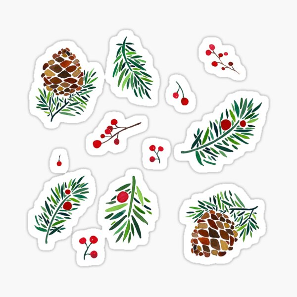 Christmas Holiday Pack Sticker