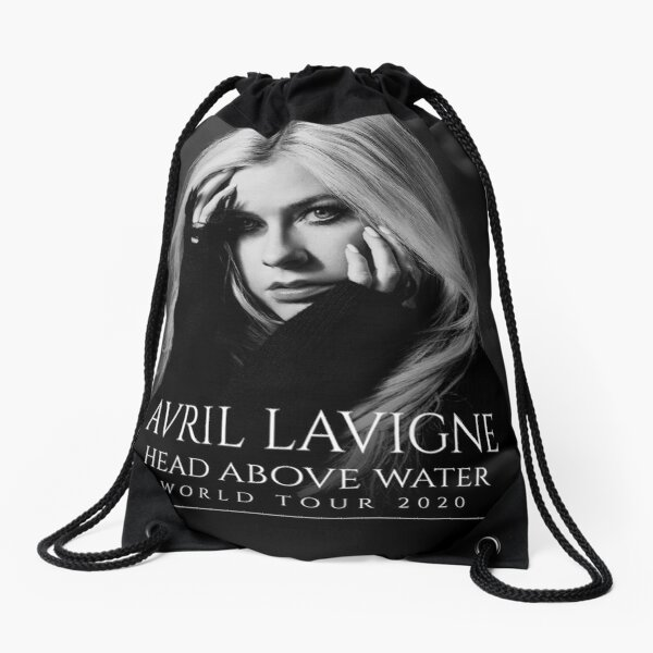 avril head above blimbing lavigne water 2020 Drawstring Bag