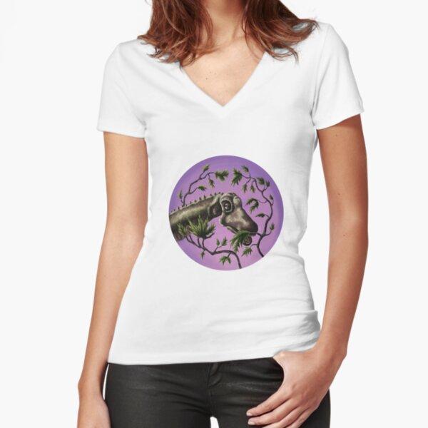 Plant Eater Fitted V-Neck T-Shirt