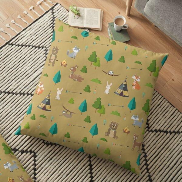 Woodland Friends Floor Pillow