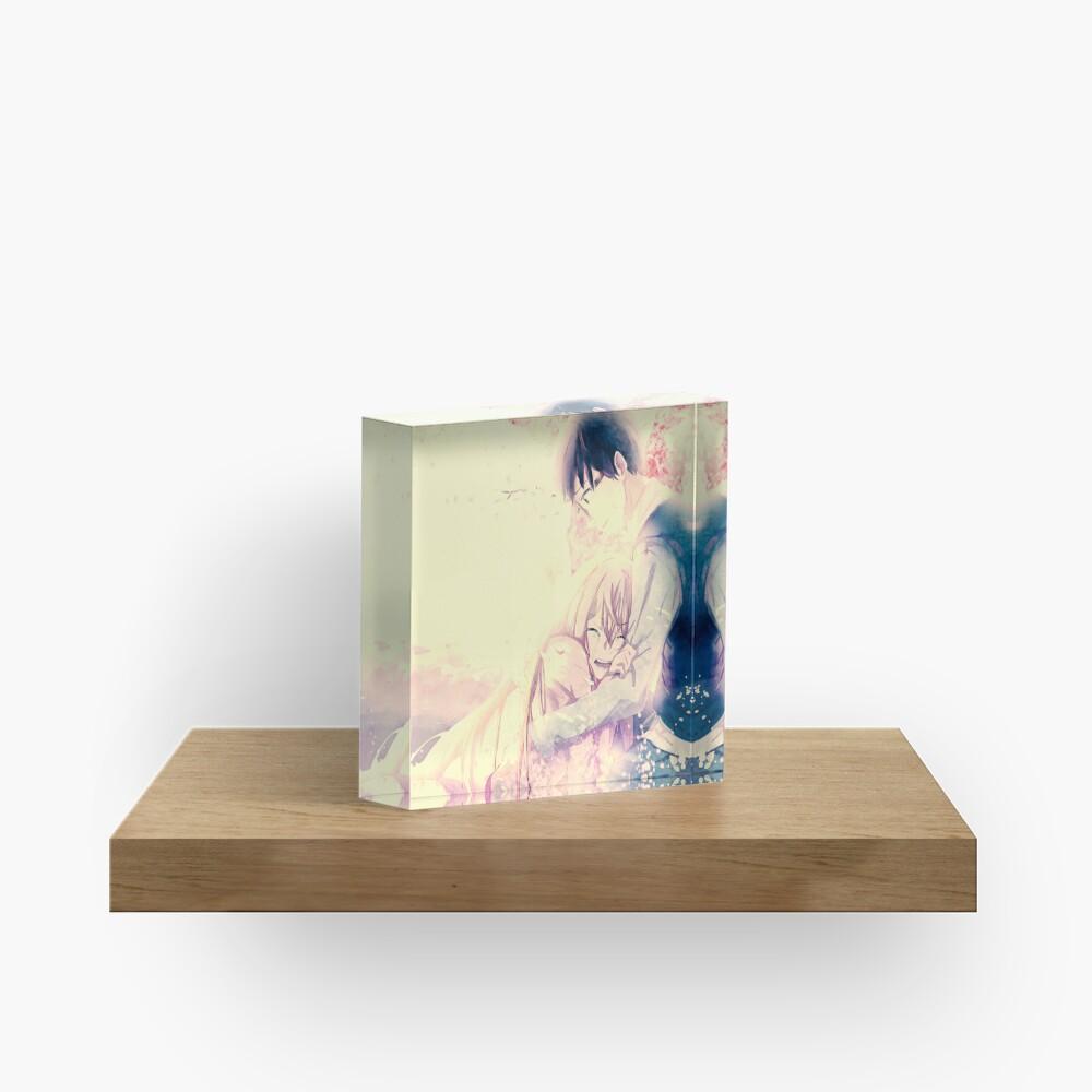 Shigatsu wa kimo no uso Your Lie in April Acrylic Block