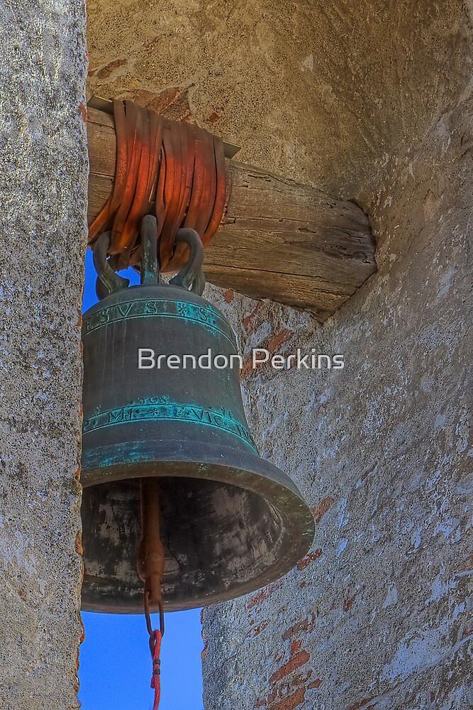 Mission Bell (San Juan Capistrano Spanish Mission, California) by Brendon Perkins