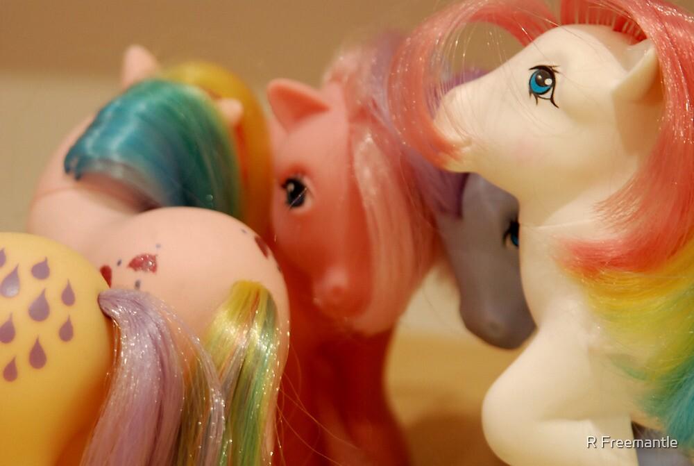 Ponies by Rebecca Freeman