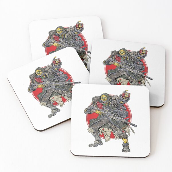 FL4K The Beastmaster Borderlands 3 Rakk Attack! Coasters (Set of 4)
