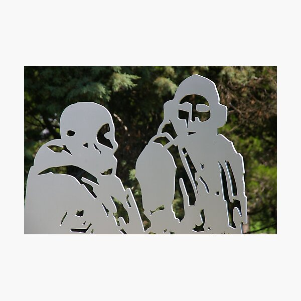 Ghosts In The Garden Photographic Print