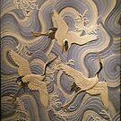 Garzas sobre el mar.  by barcasolar