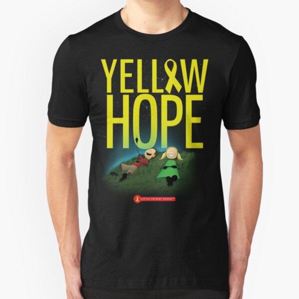 Yellow Hope Slim Fit T-Shirt