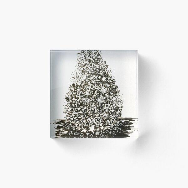 Merry Christmas Acrylic Block