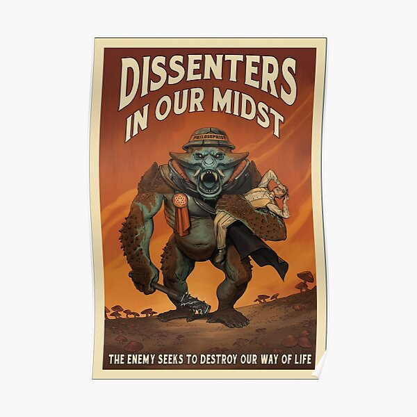 Outer Worlds Dissenters in our Midst Poster Poster