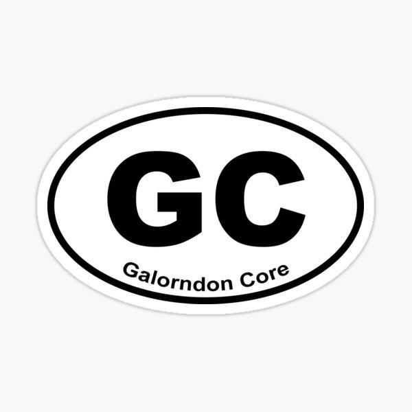 Galorndon Core Sticker