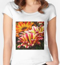 Gazania Fitted Scoop T-Shirt
