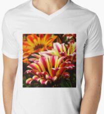 Gazania V-Neck T-Shirt