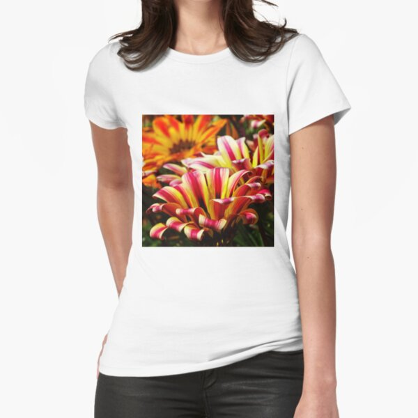 Gazania Fitted T-Shirt