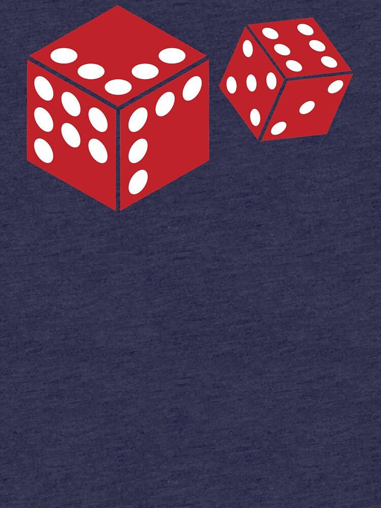 Let's Play Random Dice Logo by NovaWar