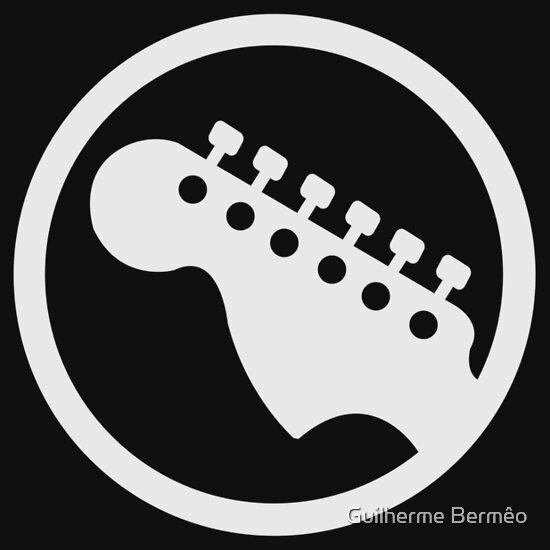 Rockband Instrument Symbol Guitar A T Shirt Of Geek Case Nerd
