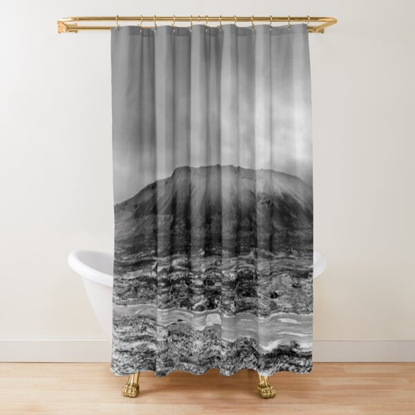Гора Шмидтиха - ГОРА ШМИДТА. ПАНОРАМА Shower Curtain